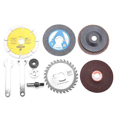 Disco de conversión de taladro eléctrico Biela de conexión Disco de pulido Rueda Accesorio para corte de pulido