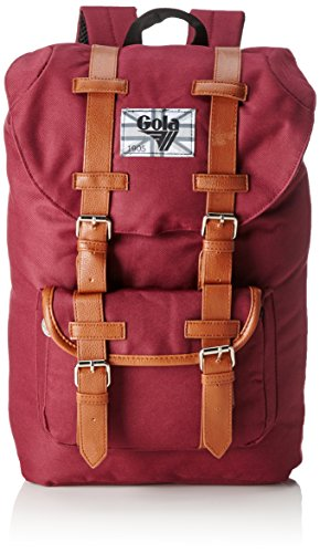 Gola Bellamy 2 tasche con manici, Rosso (Rosso (Burgundy/Tan)), 26x47x13 cm (B x H x T)