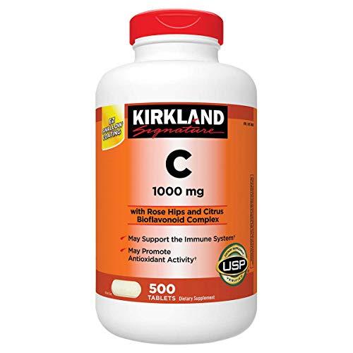 Kirkland Signature Vitamin C, 1000mg, 500 Tabs