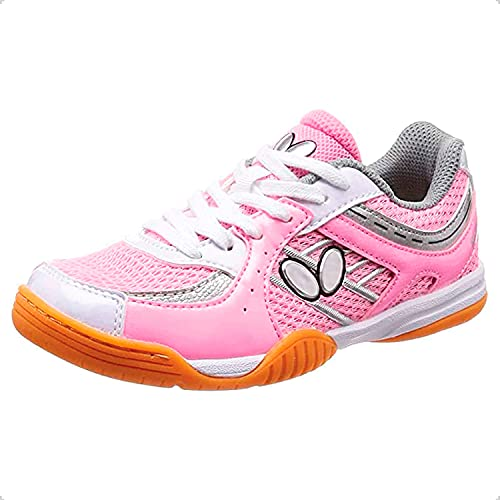 Butterfly Lezoline SAL Shoe - Men or Women's Breathable, Excellent Gripping, Light Shock Absorption, High-Level, Tournament Quality Table Tennis Shoes