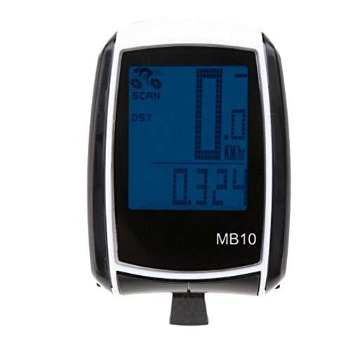 BESTSOON Recargable de Bicicletas GPS del Equipo Multifuncional Hilos del LCD de...