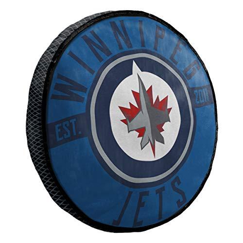 NHL Winnipeg Jets - Almohada de viaje (15,2 cm), diseño de Winnipeg Jets, multicolor, talla única