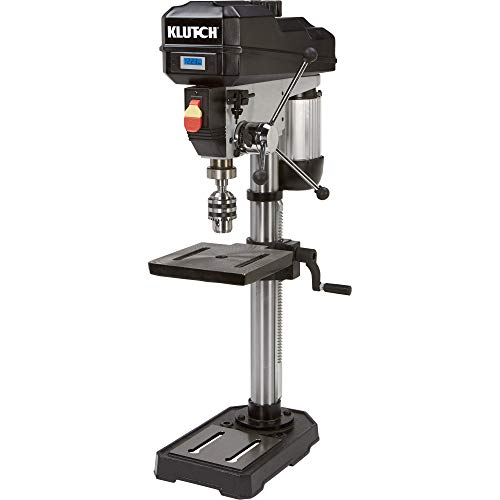 Klutch Benchtop Drill Press - Variable Speed...