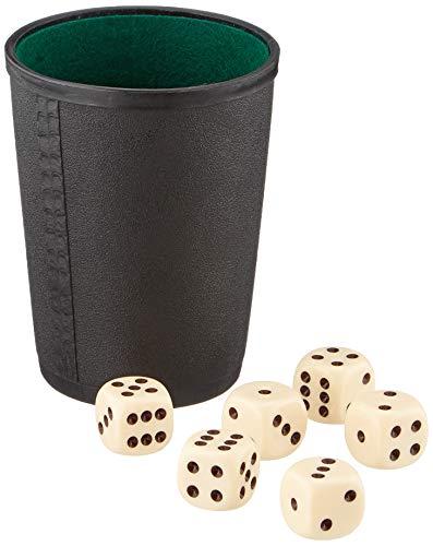 Nürnberger-Spielkarten-Verlag - Cubilete de dados, de 2 a 6 jugadores , color/modelo surtido