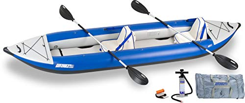 Sea Eagle 420x Inflatable Kayak with Deluxe Package