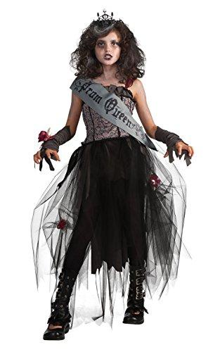 Rubie's, costume da ragazza Goth Prom Queen ufficiale,XL, multicolore