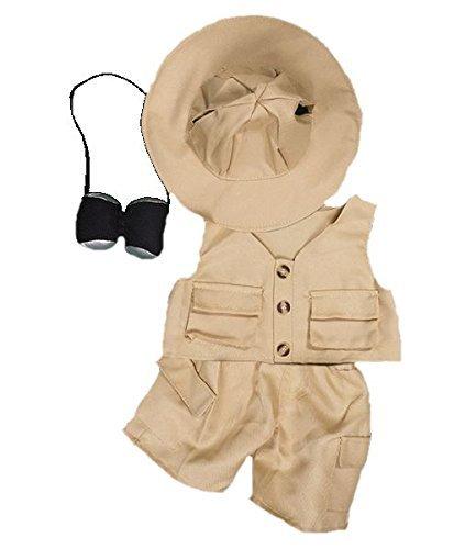 Safari 40.6cm (40cm) Teddybär Kleidung Outfit für Build a Bear