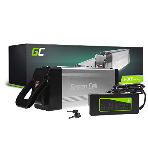 Green Cell GC® Bateria Bicicleta Electrica 24V 15Ah con Celdas Originales Silverfish Li-Ion Batería y Cargador