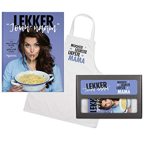 Lekker Miljuschka kookboek met naam - Cadeaupakket voor mama's