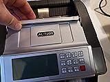 Banknotenzähler Geldzählmaschine Geldscheinzähler Wertzähler Geldzähler Geldscheinprüfer erkennt alle neue 100 und 200 EUR - 6