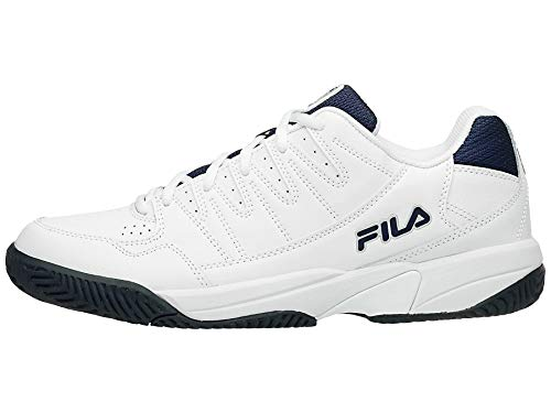 Fila Double Bounce PB Mens Tennis Shoes (10) White/Navy