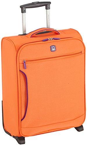 Maletín anaranjado Benetton