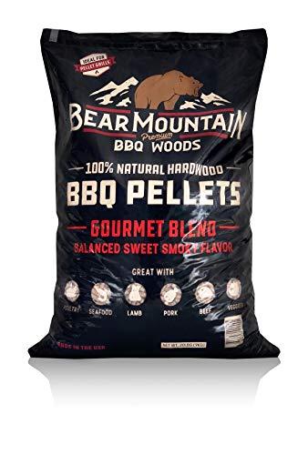 Bear Mountain BBQ FK99 All-Natural Hardwood Smoky...