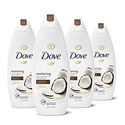 Dove Body Wash for Dry Skin Deep Moisture Sulfate Free Body