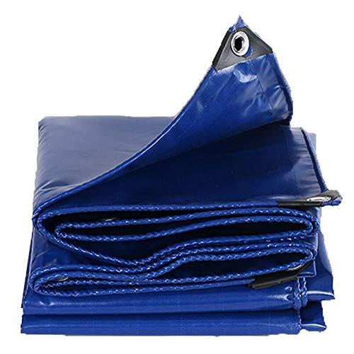 Planen Pavillon UV-beständig Winddicht Imprägniern Sie Isolierung des Polyester-Faseraußenpools Messer, Die Plane Scheuert ZHML (Farbe : Blau, größe : 2 * 2)