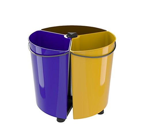 Cubo de Basura Reciclaje para Cocina y Oficina (EcoBinSpin)