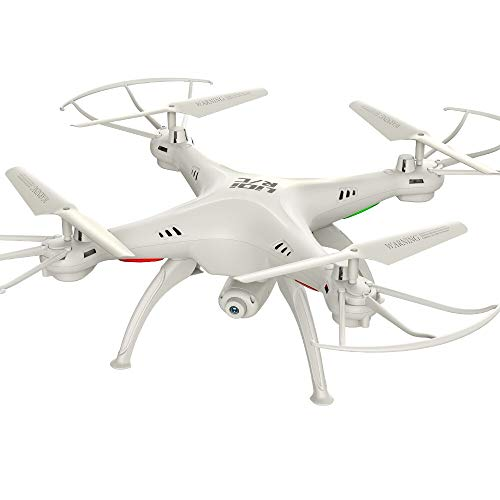 RC Drone with WiFi FPV HD Camera LiDiRC L15FW Quadcopter 2.4GHz 4CH 6 Axis Gyro Waterproof Headless Mode Helicopter VS JJRC H37 White