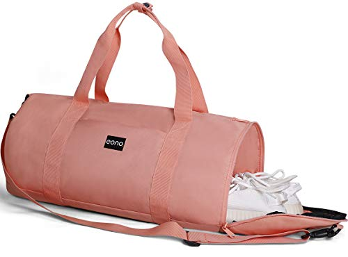 Eono 25L Dry Wet Separated Sports Duffel Bag (Pink)