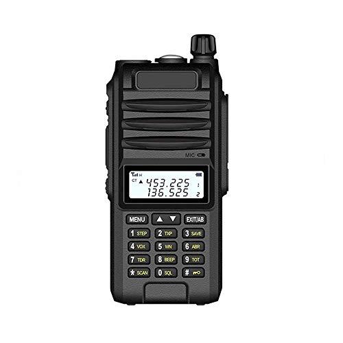Adesign Long Ranger Digital walkie Talkie, Profesional walkie Talkie 8W de Alta Potencia con Linterna luz Fuerte