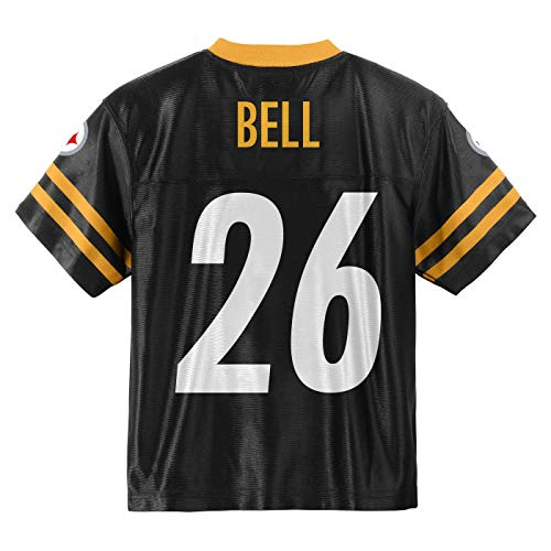 Outerstuff Leveon Bell Pittsburgh Steelers #26 Infants Toddler Home Player Jersey (2T)