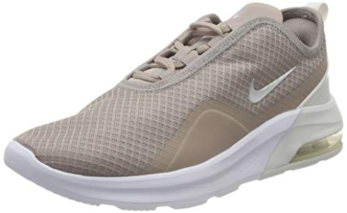 Nike Damen WMNS AIR MAX Motion 2 Laufschuhe, Mehrfarbig (Pumice/MTLC Silver-Platinum Tint 203), 36 EU