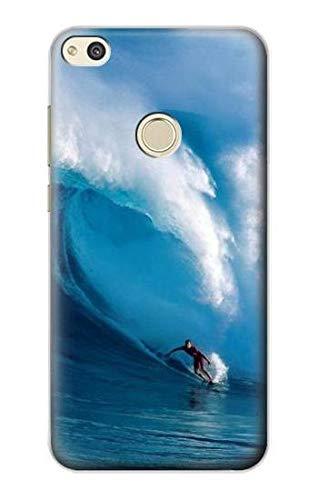 Innovedesire Hawaii Surf Funda Carcasa Case para Huawei P8 Lite (2017)
