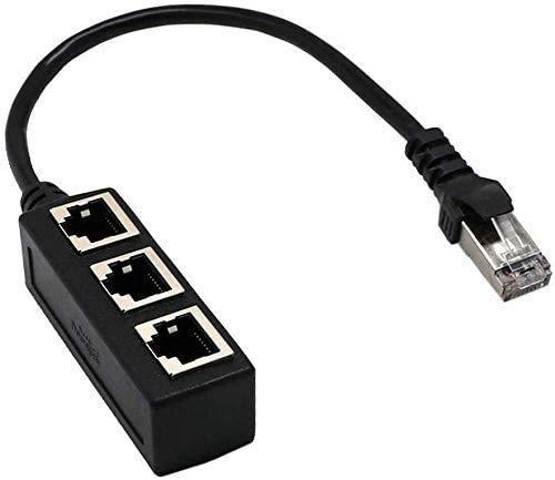 RJ45 Ethernet Splitter Cable, vienon RJ45 Y...