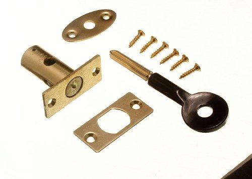 Onestopdiy – Serratura per finestra e chiave a stella EB, 32 mm, con viti di fissaggio (confezione con 2 serrature + 2 chiavi)