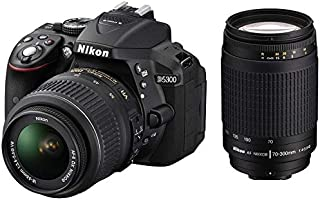 Nikon D5300 Digital Camera, 18-55mmVR, 70-300mm f/4-5.6G