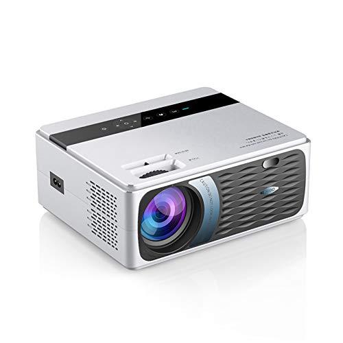 Mini Proyector, Multimedia Bluetooth, FáCil De Cargar, Admite Varios Puertos, como USB/HDMI/AV/Salida de Audio3D Envolvente EstéReo Casaproyector, For Al Aire Libre Casa