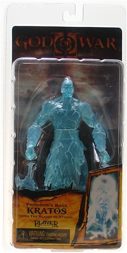 NECA God of War II Video Game Magic of the Gods Action Figure Poseidon's Rage