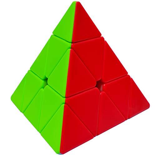 Maomaoyu Pyraminx Stickerless 3x3 3x3x3 Piramide Triangolo Cubo Speed Cube Magic 3D Puzzle Cube Velocidad Cubo Niños Juguetes Educativos