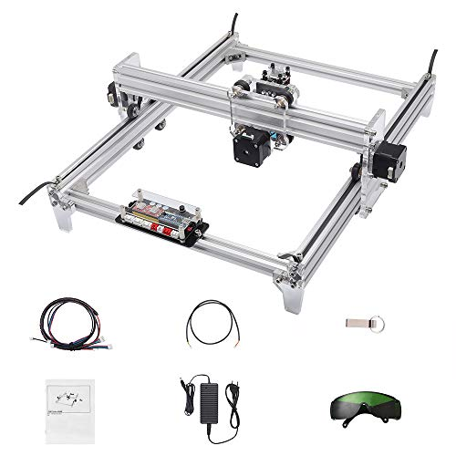 2500mW Mini CNC Laser Engraver Metal Marking Rubber Machine Wood Cutter 30x40cm DIY Kit