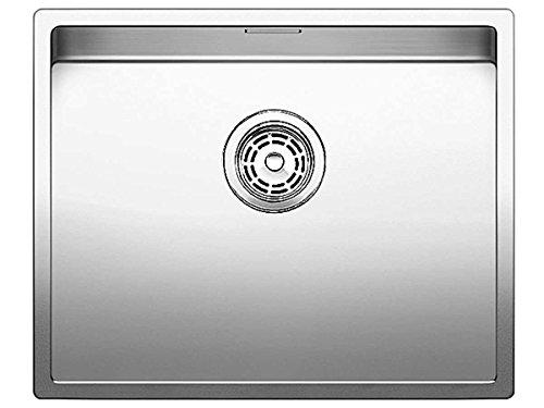 Blanco Claron 500-U Edelstahl-Spüle Seidenglanz