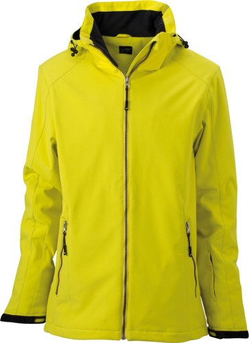 J&N - Damen Wintersport-Jacke (JN1053), Gelb, Gr. XL