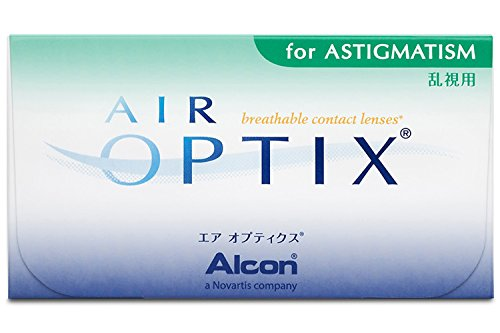 Alcon Air Optix for Astigmatism Monatslinsen weich, 3 Stück / BC 8.7 mm / DIA 14.5 / CYL -0.75 / ACHSE 140 / -7 Dioptrien