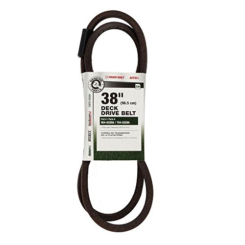 MTD Genuine Parts 490-501-M046 38' Deck Belts, Natural