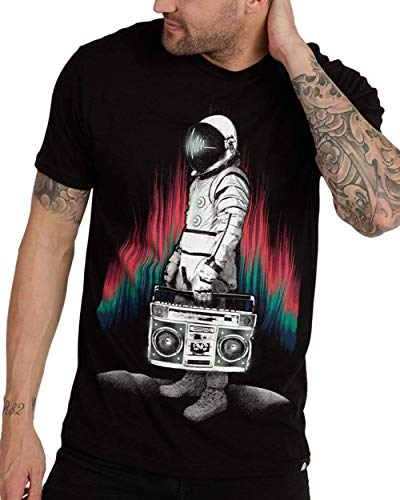 INTO THE AM AstroBlaster Men's Graphic T-Shirt (X-Large)