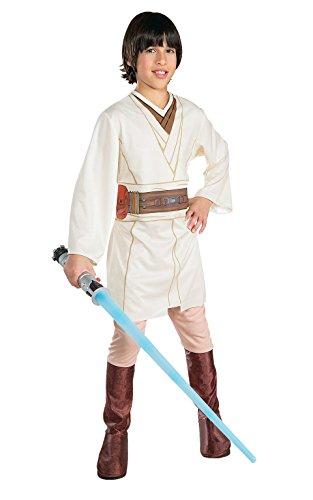 Rubie\'s Costume Star Wars - Disfraz de Obi-Wan Kenobi para niño, talla L/8- 10 años