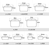 (カラー:2):料理キャセロール料理・ハード、耐久性、ノンスティック、ホットとコールド耐性(容量4.Lサイズ)のためのCS-DGセラミックキャセロール (Color : 2, Size : -)