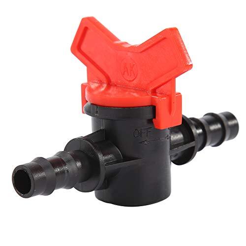Asiproper 1 stück / 5 stücke 8mm Schlauch Gartenbewässerung Wasserventile 8/11 Zweiwege Stacheldraht Waterstop Anschlüsse