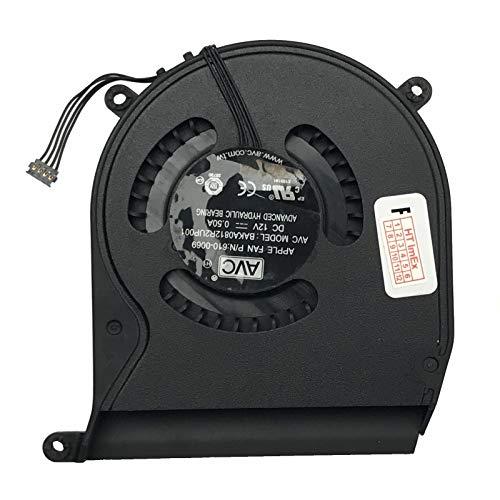 Ventilator/koeler - ventilator - compatibel met Apple MacBook Mini 2.33 2.5 2,7 GHz, A1347 2010