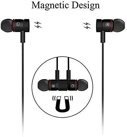 Generic MSH03 Growth c Magnetic Wireless Bluetooth Waterproof Hands-free Earphone with Built-in Mic for Smartphones