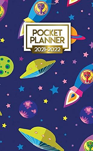 Pocket Planner 2021-2022: 24 Month Calendar Organizer Agenda with Monthly Vision Boards...