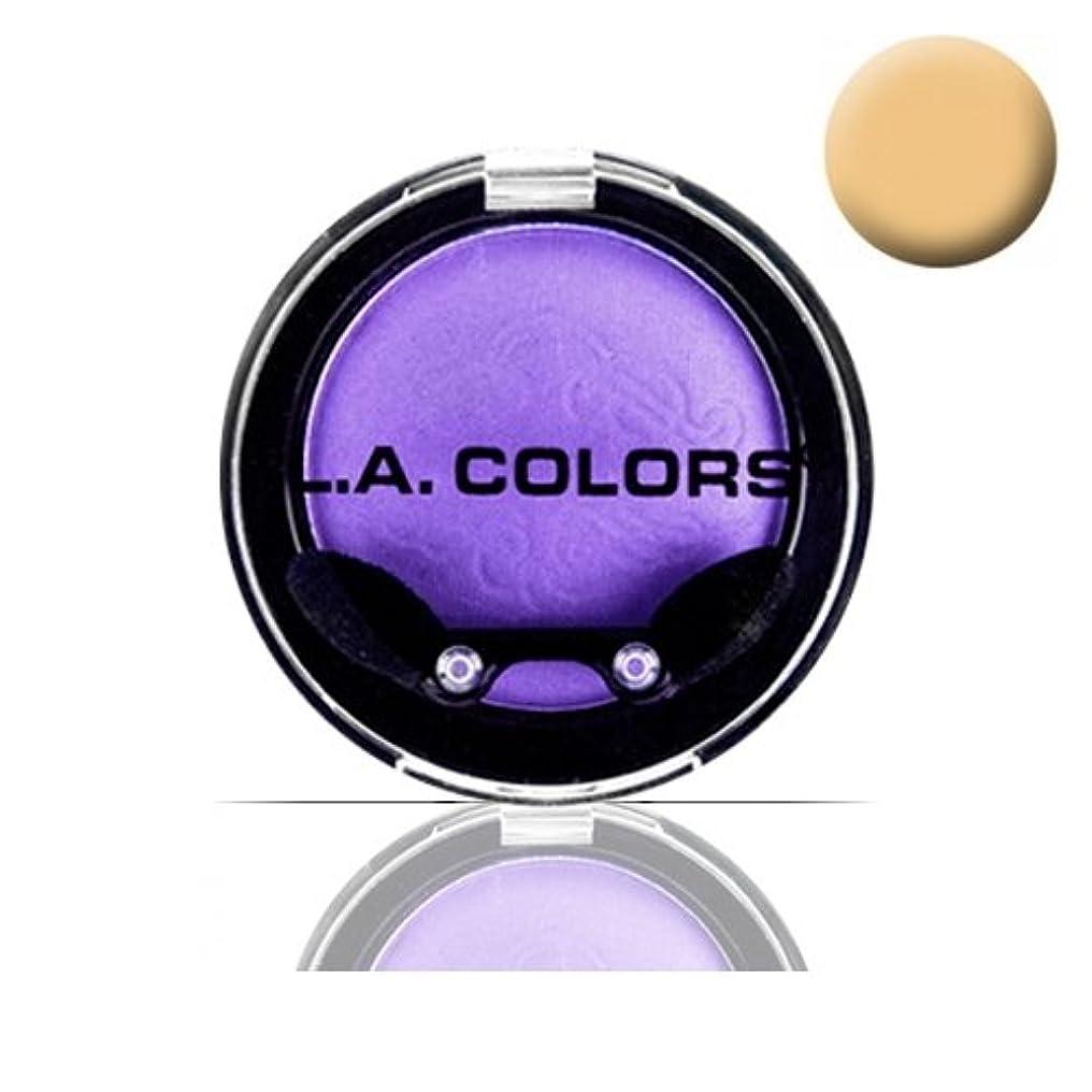 山積みの三熱狂的な(3 Pack) LA COLOR Eyeshadow Pot - Champagne (並行輸入品)