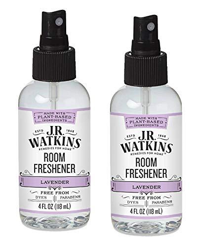 JR Watkins Room Freshener Lavender  4 fl oz  Pack of 2