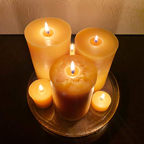 Alternative Imagination Pure Beeswax Pillar Candle
