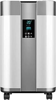 AMBH-heater Calefactor silencioso Vertical, Pantalla LED, 24 Horas Temporizador de Ahorro de energía for el hogar y la Oficina - Blanco NQ11/4