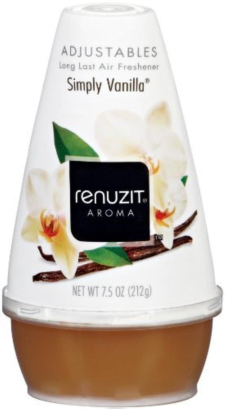 放出動かない靴下Renuzit Adjustablesコーンエアフレッシュナーは、単純にバニラ - 7.5オンス