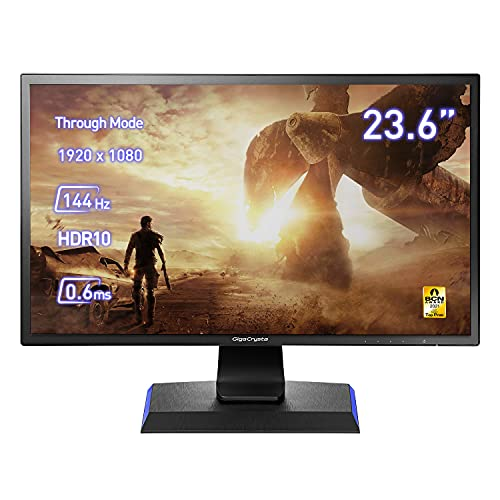 IODATA LCD-GC242HXB 23.6型/1920×1080/HDMI、DisplayPort/ブラック/スピーカー:あり/高速144Hz対応「Giga...